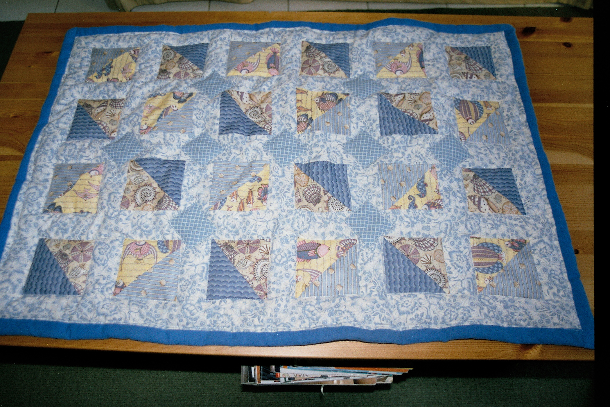 Quilt for baby Auryn, 2004