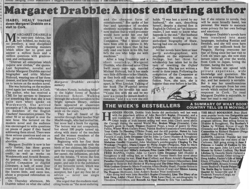 M. Drabble article